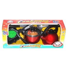 KITCHEN COLLECTION Set utensilios de cocina 10 piezas