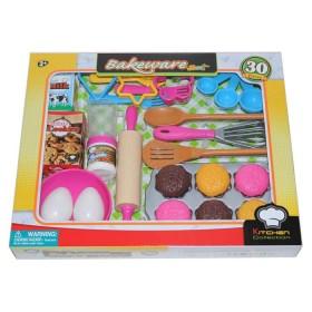 KITCHEN COLLECTION Set utensilios para hornear 30 piezas