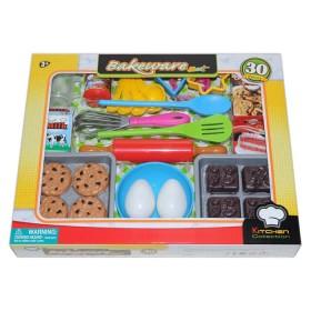 KITCHEN COLLECTION Set utensilios de hornear para niñas 30 piezas