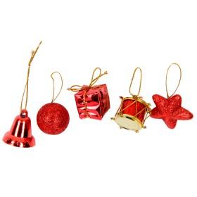 Set Ornamentos Rojo