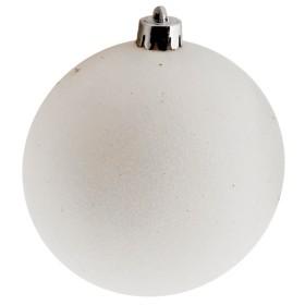 Set 6 Esferas Blancas 6 Cms.