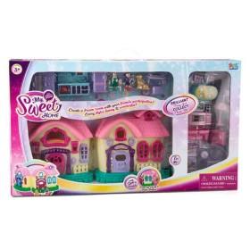 MY SWEET HOME Casa de muñecas con Luces y Sonido
