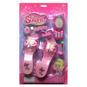 SUSANA Beauty Set kit de belleza con zapatillas y celular