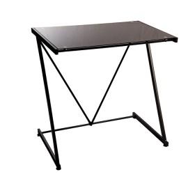 Mesa escritorio TUKASA Vidrio Negra