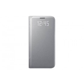 Led View Cover Silver S7