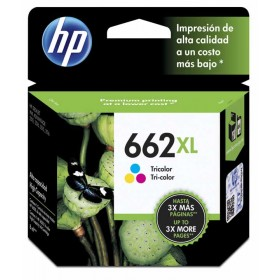 Cartucho de tinta HP 662XL Tricolor Original CZ106AL