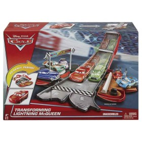 Figura CARS RAYO McQUEEN SET DE JUEGO TRANSFORMABLE DVF38