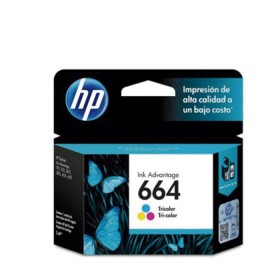 Cartucho HP 664 Tri-color