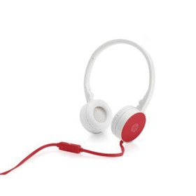 Audífono HP Alámbrico On Ear H2800 - Rojo