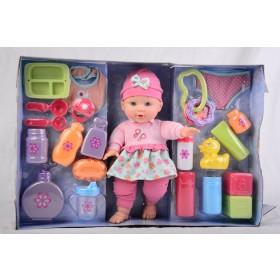 Set conjunto inicial de bebé Gigo Toys rosado