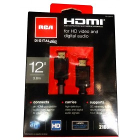 Cable HDMI RCA Alta Velocidad 3D 3.6M