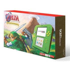 Consola NINTENDO 2DS Link Edition + Zelda Ocarine of Time 3D