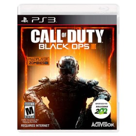 Videojuego PS3 Call of Duty Blacks Ops III