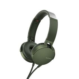 Audífonos SONY Alambrico OnEar ML XB550 Verde