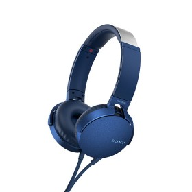 Audífonos SONY Alambrico OnEar ML XB550 Azul