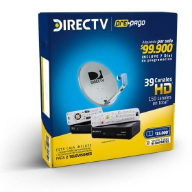 Set DIRECTV Prepago 2 Decos HD-SDT