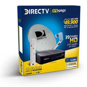 Set Directv Prepago HD 1 Decodificador