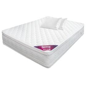 Colchón SPRING 120 x 190 Semidoble Descanso Perfecto + 2 Almohadas