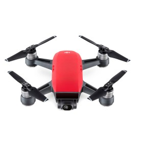 Drone DJI Spark + Control + 2 Baterias + Estuche Rojo