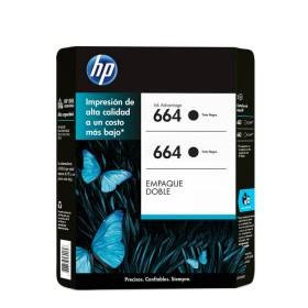 Cartucho de tinta HP 664 Negro Dual Pack