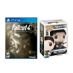 Bundle PS4 Videojuego Fallout 4 + Funko Sole Survivor