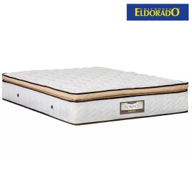 Colchón ELDORADO Sencillo Florence 100x190 cms Resortado