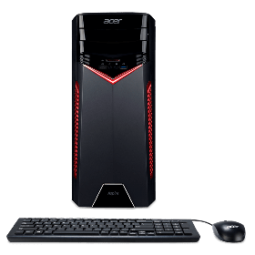 PC Gamer ACER - 	GX-785-SR11 - Intel Core i5 - Disco Duro 1TB - Negro