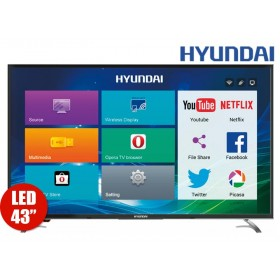 "TV 43""109cm HYUNDAI LED 432 Full HD Internet"
