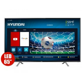 "TV 65"" 163cm HYUNDAI 6503i 4K-UHD Internet"
