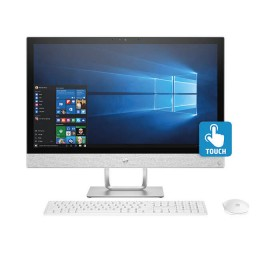 "PC All in One HP- 24-R016 - AMD - 23.8"" Pulgadas – Disco Duro 1Tb – Blanco"