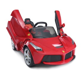 RASTAR Carro Ferrari Rojo 12 Voltios para niños