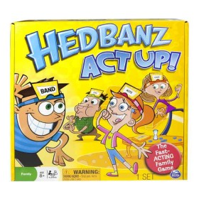 BOING GAMES Hedbanz Act Up
