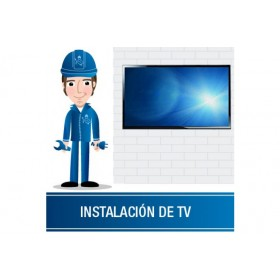 "Instalación TV mayor a 60"" No Base"