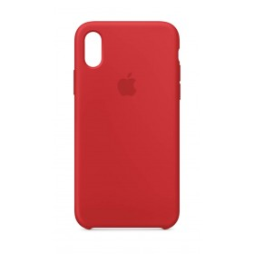 iPhone Case X Silicone Rojo