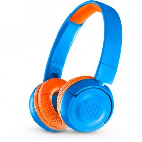 Audífonos JBL Inalámbricos Bluetooth OnEar J300 Azul / Naranja