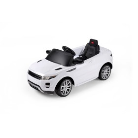 RASTAR Carro Lang Rover Evoque Blanco automóvil eléctrico para niño