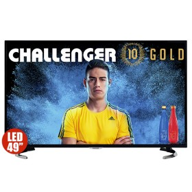 "TV 49"" 123cm CHALLENGER LED 49K53T2 4K Internet"