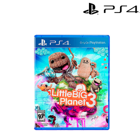 Videojuego PS4 Little Big Planet 3