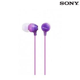 Audífonos SONY Alámbricos InEar EX15 Violeta