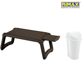 Mesa Laptop RIMAX Wengue + Papelera