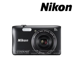 Cámara NIKON S3700 compacta Negra + Estuche + Memoria SD 8G