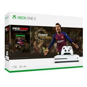 Consola XBOX ONE S 1TB + Videojuego PES 2019 + 1 Control + 14 dias de XBOX LIVE + 1 mes de Xbox Game Pass