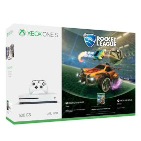 Consola XBOX ONE S 500GB + Videojuego Rocket League + 3 Meses