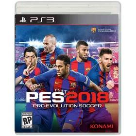 Videojuego PS3 Pro Evolution Soccer 2018