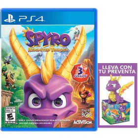 Videojuego PS4 Spyro Reignited Trilogy