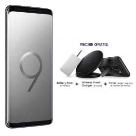 Celular Libre SAMSUNG S9 Gris DS 4G con Accesorios