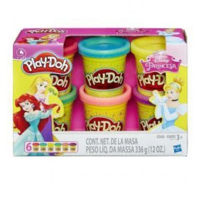 PLAY-DOH Princesas Disney x 6