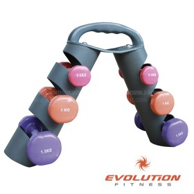 Set Mancuernas EVOLUTION De 6 kg