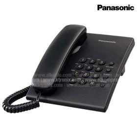 Teléfono PANASONIC Alámbrico TS500 Negro