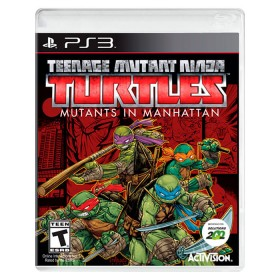 Videojuego PS3 Tortugas Ninja in Manhattan